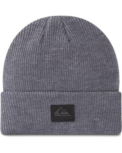Szara czapka z akrylu Quiksilver
