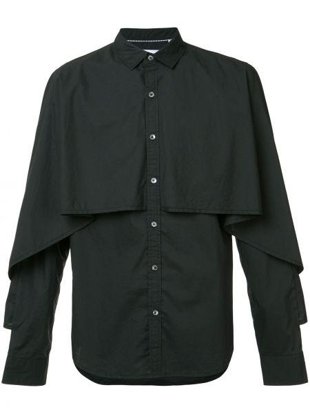 Хлопковая черная рубашка Private Stock