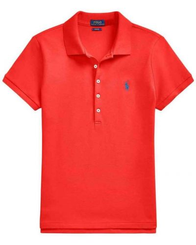 Czerwona koszulka krótki rękaw Polo Ralph Lauren