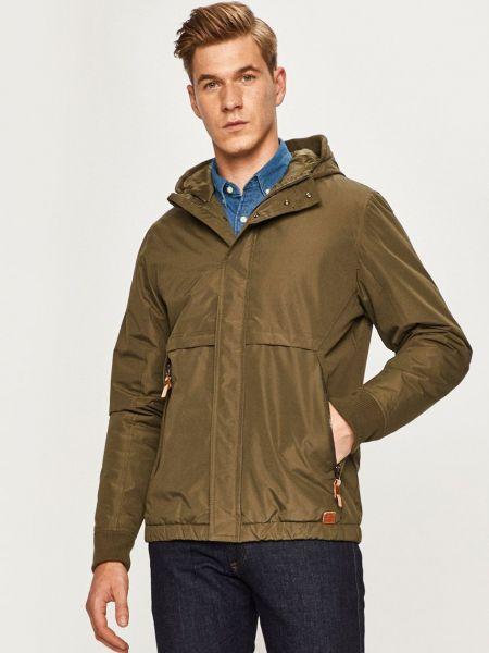 Куртка с капюшоном на кнопках с декоративной отделкой Blend