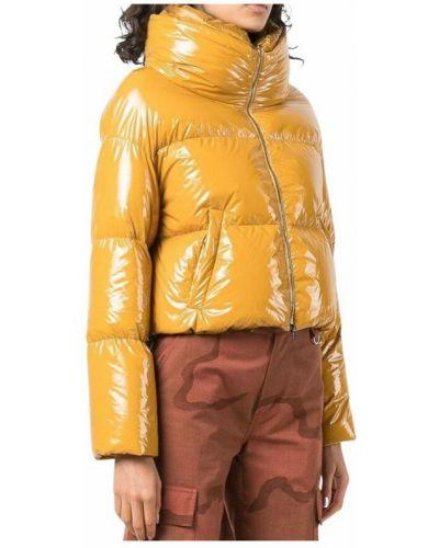 Żółta kurtka bomber Herno