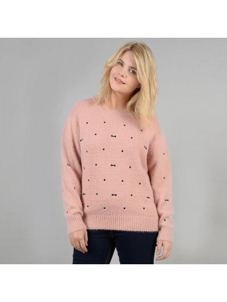 Пуловер с вышивкой в горошек Gabrielle