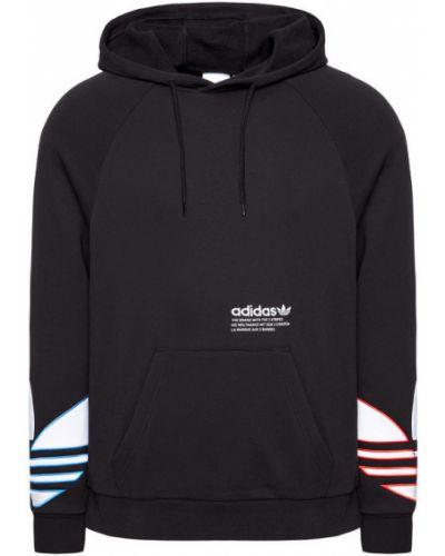 Czarny bluzka Adidas Originals