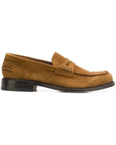 Лоферы замшевые кожаные Berwick Shoes