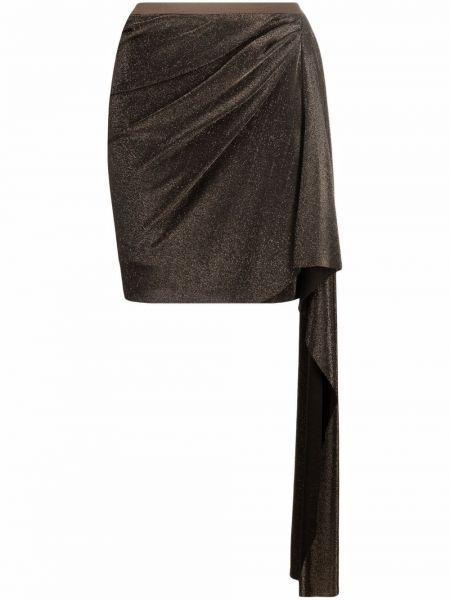 Юбка мини - золотая Rick Owens Lilies