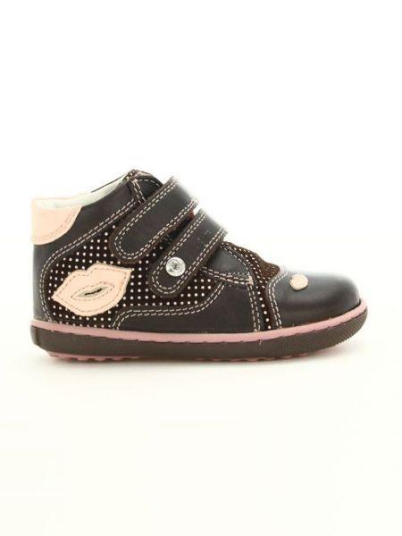 Кожаные кроссовки - коричневые Bartek