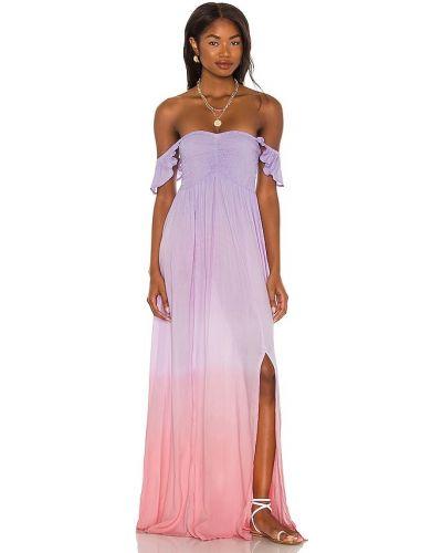 Платье макси - розовое Tiare Hawaii