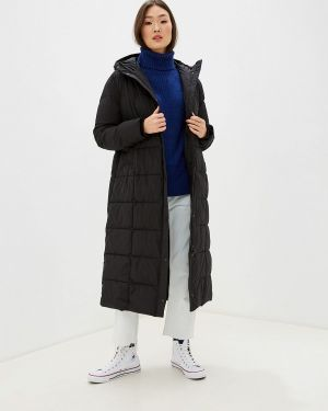 Зимняя куртка утепленная черная Marks & Spencer