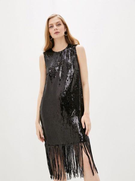 Вечернее платье черное весеннее Lautre Chose