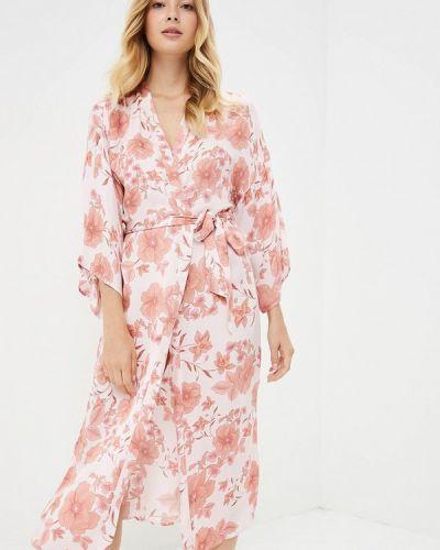 Розовый халат домашний Women'secret