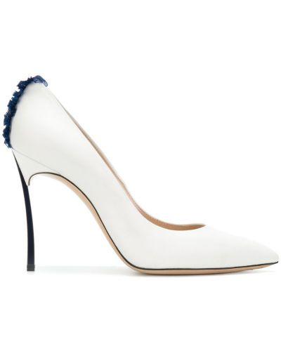 Туфли-лодочки на высоком каблуке Casadei