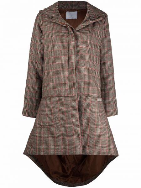 Коричневое кашемировое пальто Société Anonyme