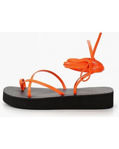 Сандалии оранжевый Topshop
