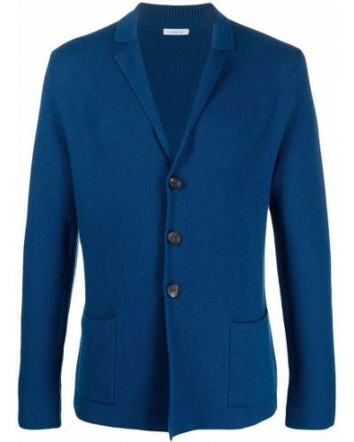 Шерстяной пиджак - синий Malo