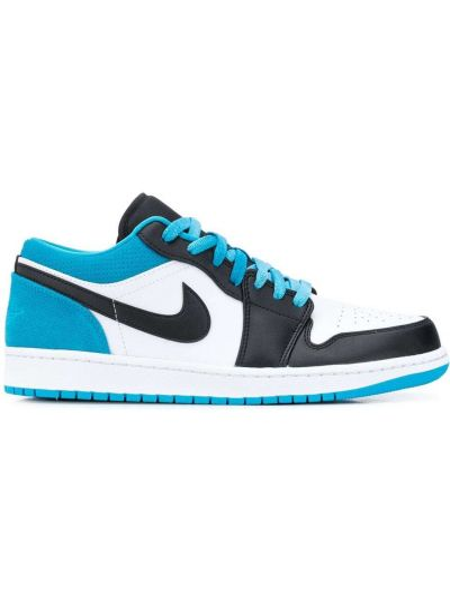 Skórzany sneakersy z logo Nike