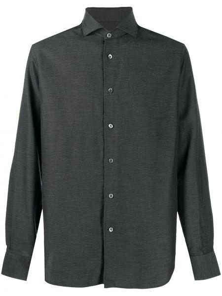 Рубашка с длинным рукавом - серая Corneliani