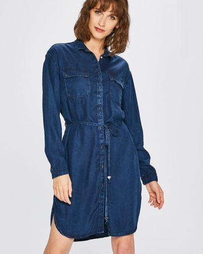 Джинсовое платье мини с карманами Pepe Jeans