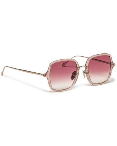 Beżowe okulary Isabel Marant