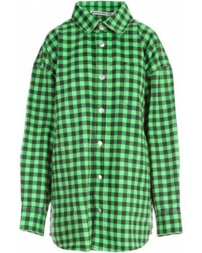 Koszula - zielona Alexander Wang