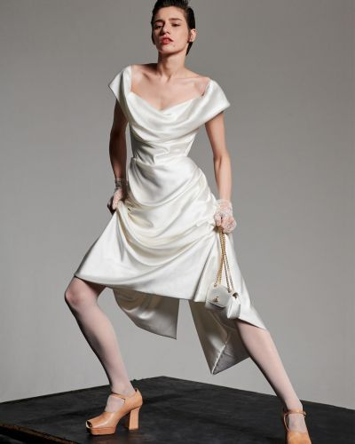 Платье шелковое Vivienne Westwood