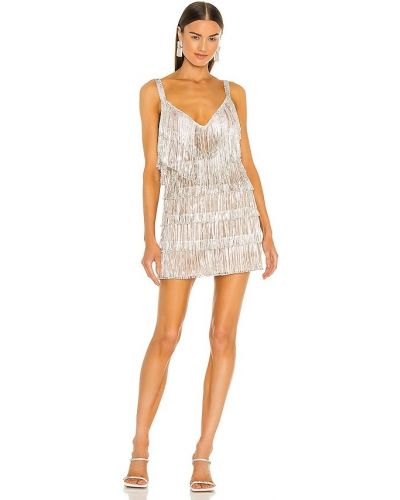 Платье мини классическое - серебряное Bronx And Banco