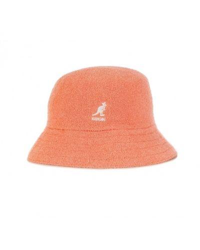 Pomarańczowy kapelusz Kangol