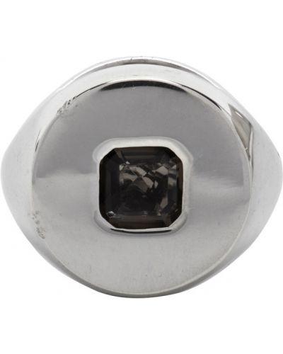 Pierścionek srebrny kwarc Alan Crocetti