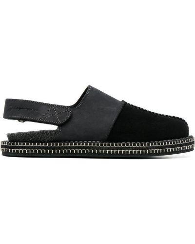 Sandały skórzane - czarne Jacquemus