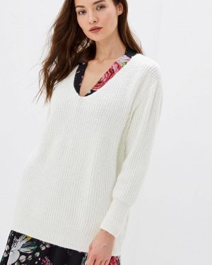 Пуловер - белый Moocci