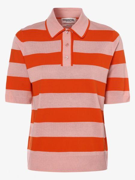 T-shirt - pomarańczowa Essentiel Antwerp