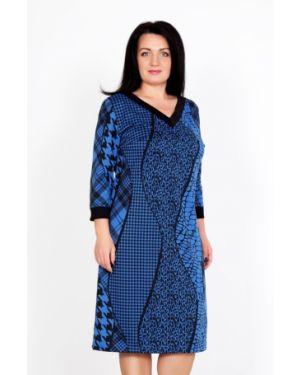 Платье миди с V-образным вырезом платье-сарафан Lika Dress