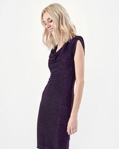 Вечернее платье осеннее фиолетовый Lime