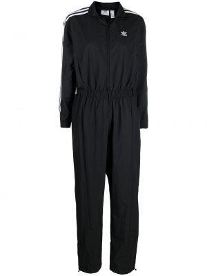 Комбинезон на молнии - черный Adidas