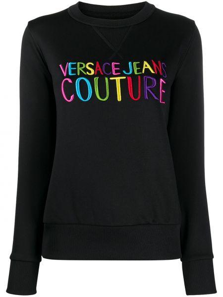 Jeansy czarne długo Versace Jeans Couture