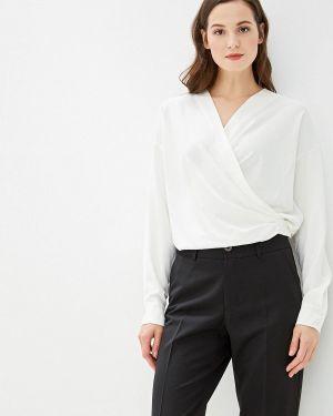 Блузка с длинным рукавом белая Adolfo Dominguez