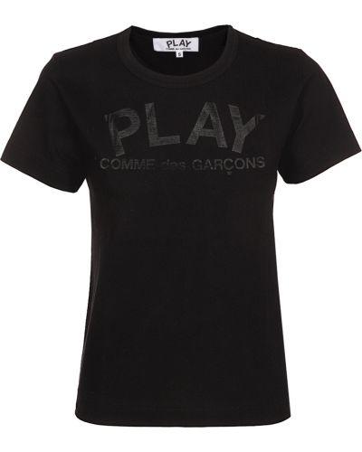 T-shirt - czarna Comme Des Garcons Play