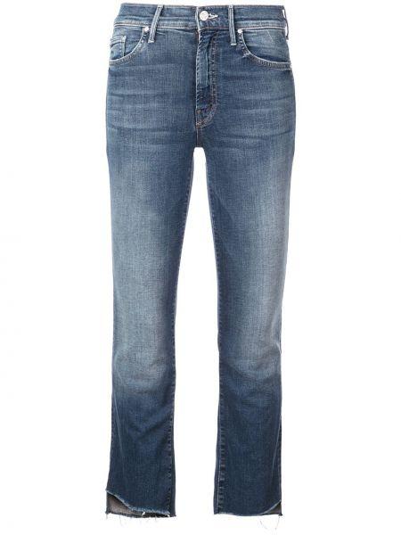 Прямые джинсы укороченные с низкой посадкой Mother
