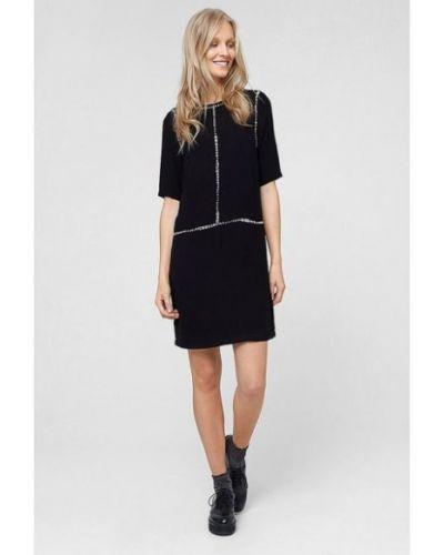 Платье на молнии - черное S.oliver