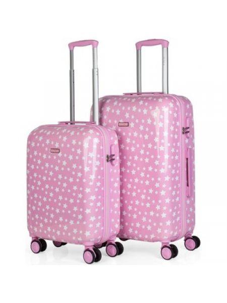 Różowa walizka Itaca