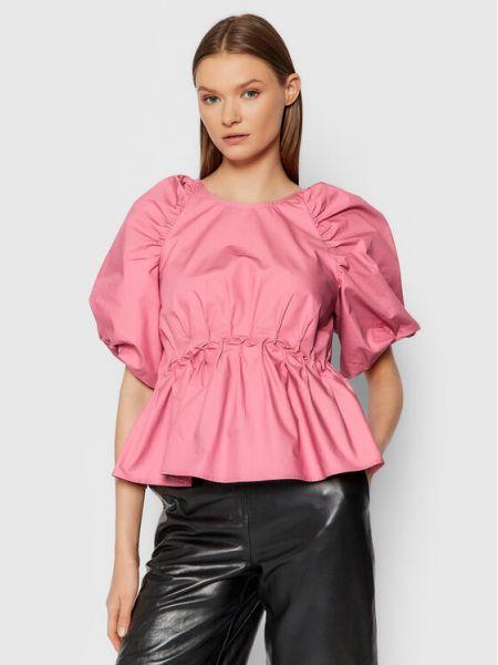 Różowa bluzka Gestuz