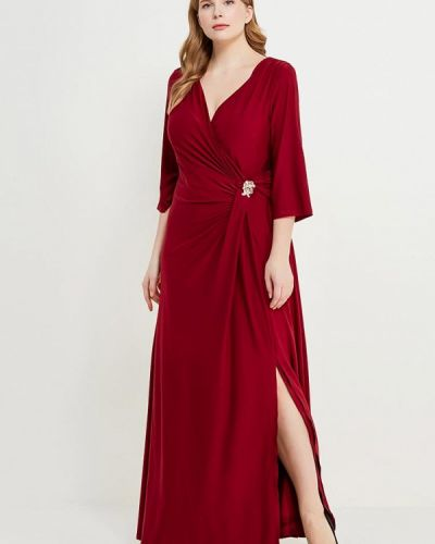 Платье весеннее красный Svesta