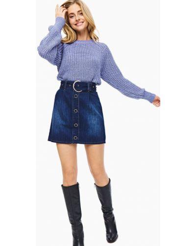 Синяя юбка мини Gaudì