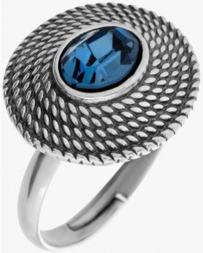 Кольцо из серебра синий Jenavi