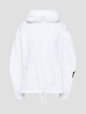 Белая куртка с карманами с манжетами Adidas