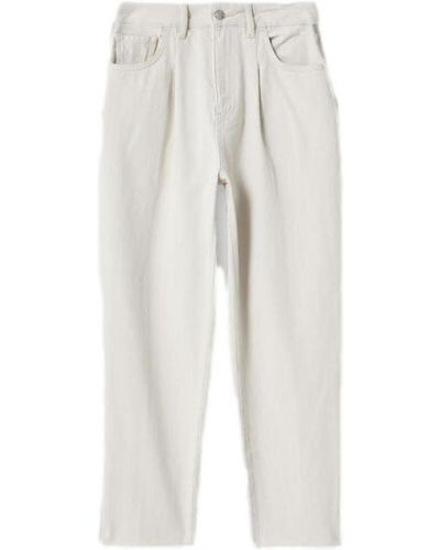 Białe spodnie na lato Liu Jo
