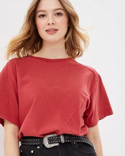 Красное боди блуза Cheap Monday