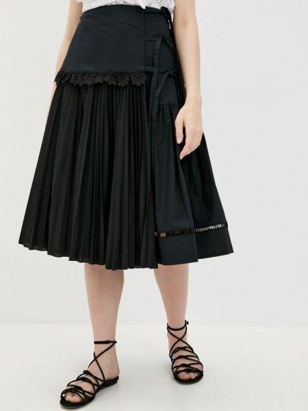 Черная юбка Vivetta