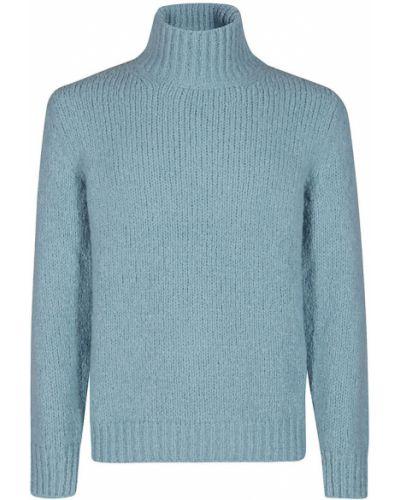 Niebieski sweter Brioni
