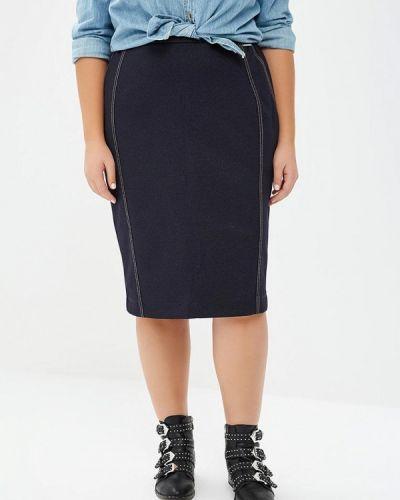 Синяя джинсовая юбка Intikoma