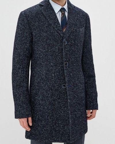 Синее пальто осеннее Bazioni